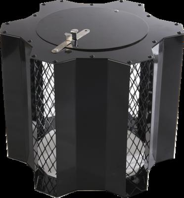 Optimus Black Junior, vaste trekkap, tot Ø 235 mm, met veegluik