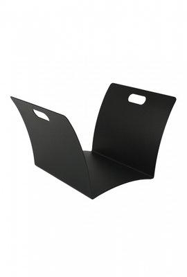 Houtbak zwart voordeel, 39 x 52 x 28 cm hoog
