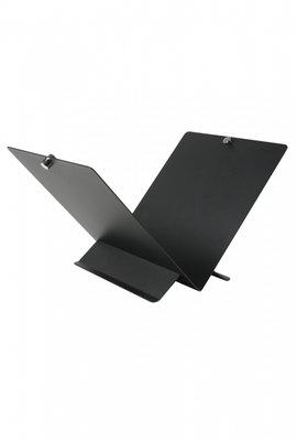 Houtbak zwart, 39 x 59 x 36 cm hoog