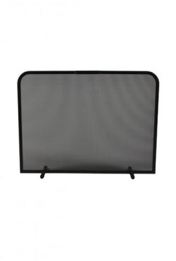 Haardscherm Zwart H 48 cm x B 80 cm