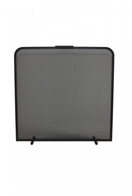 Haardscherm Zwart H 65 cm x B 65 cm
