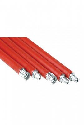 Schoorsteenveeg stokken flexibele rood