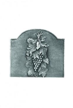 Haardplaat, Raisins, 48 B x 44 cm H, 20 KG.