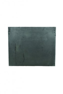 Haardplaat ijzer, 60 B x 50 cm H. 27 KG.