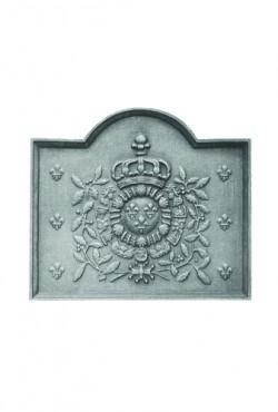 Haardplaat, Armes de France 72 B x 63 cm H, 65 KG.