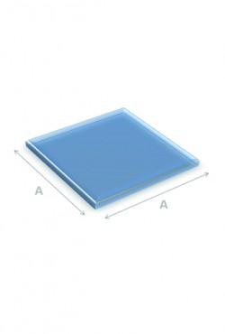 Kachel Vloerplaat Glas vierkant 100 x 100 cm