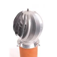 Spinner Junior RVS blank, Roterende trekkap, tot Ø 200 mm