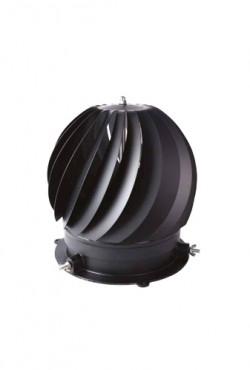 Colt Rotorvent  Ultralite 2, roterende trekkap, voor 80 tot 250 mm, Zwart