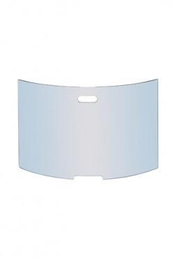 Vonkenscherm glas gebogen  H 50 X B 77 cm