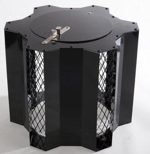 Optimus Black Senior, vaste trekkap, voor Ø 120 tot Ø 275 mm, met veegluik