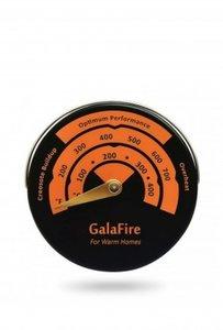 Rookkanaal thermometer, magnetische achterzijde